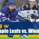 Toronto Maple Leafs vs Winnipeg Jets