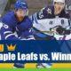 Toronto Maple Leafs vs Winnipeg Jets