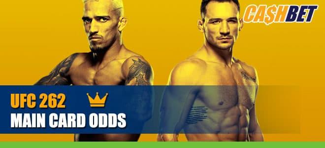 UFC 262 Main Card Betting Information