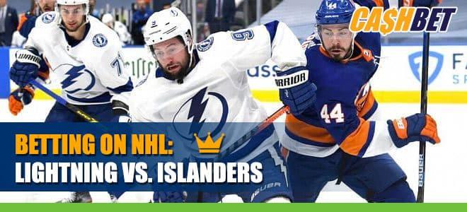 New York Islanders vs. Tampa Bay Lightning Betting Info and Odds