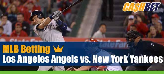Los Angeles Angels vs. New York Yankees