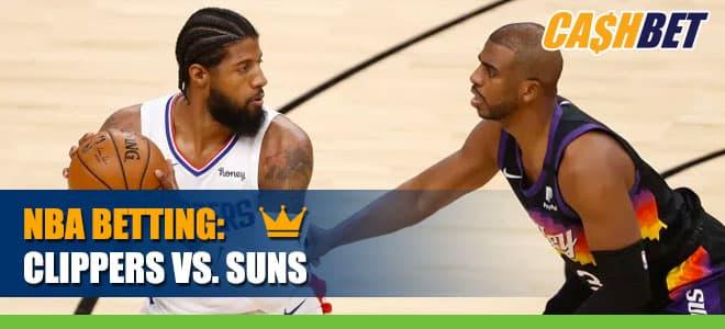 LA Clippers vs. Phoenix Suns Betting Odds and Picks