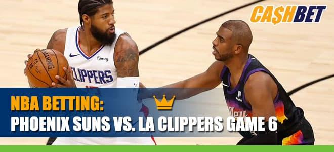 Phoenix Suns vs. LA Clippers Game 6 Betting Info, Spread and Predictions