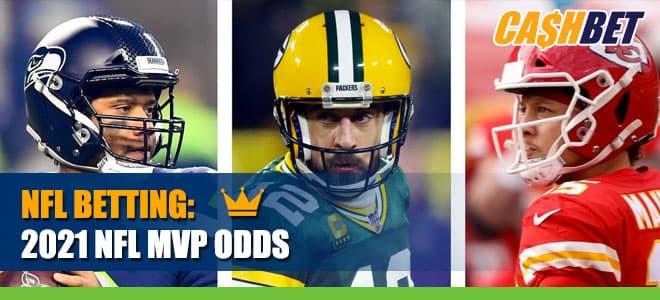 2021 NFL MVP CashBet Odds