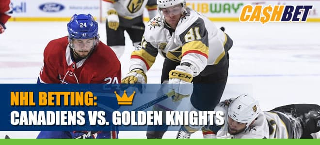 Montreal Canadiens vs. Vegas Golden Knights Odds and Predictions