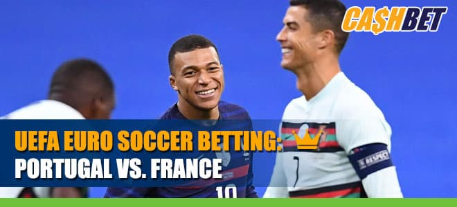 UEFA Euro Soccer Portugal vs. France Betting Information