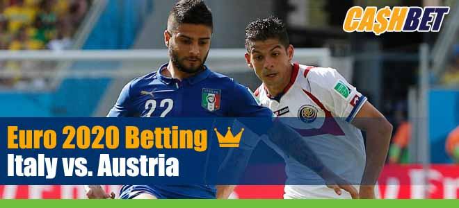 UEFA Euro Soccer Italy Vs. Austria