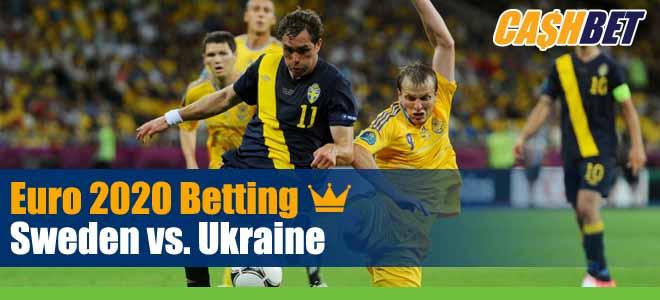 UEFA Euro Soccer Sweden Vs. Ukraine