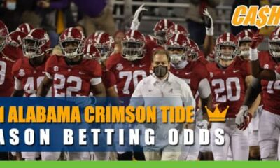 2021 Alabama Crimson Tide Betting Odds