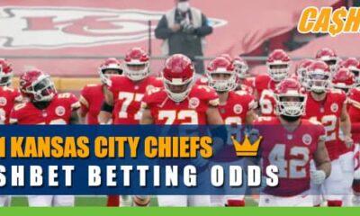 2021 Kansas City Chiefs CashBet Betting Odds
