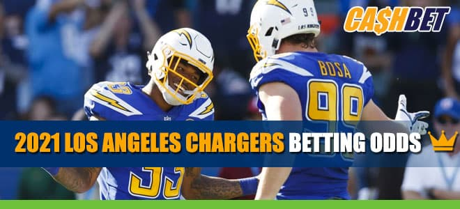 Los Angeles Chargers Betting Odds, 2021 Season Team Overview