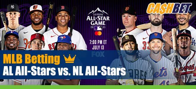 AL All-Stars vs. NL All-Stars MLB Picks Previews and Predictions Tuesday July 13 2021