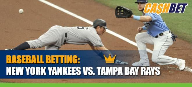 New York Yankees vs. Tampa Bay Rays Betting Information