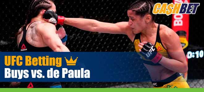 Cheyanne Buys vs. Gloria de Paula