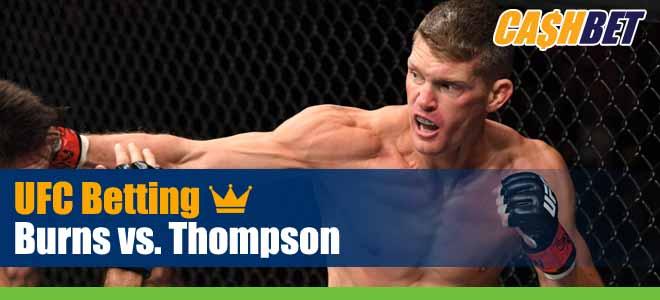 Gilbert Burns vs. Stephen Thompson