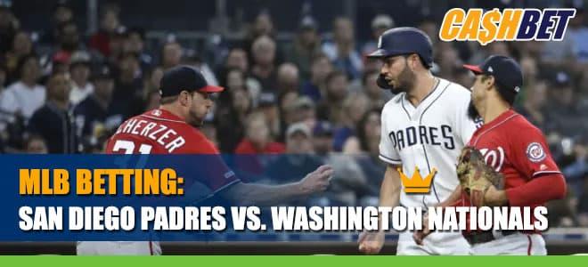 San Diego Padres vs. Washington Nationals Betting Information
