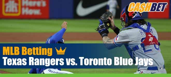 Texas Rangers vs. Toronto Blue Jays