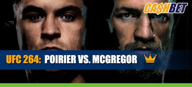 UFC 264 – Poirier vs. McGregor Betting Information