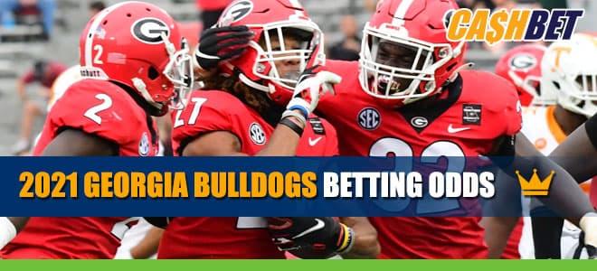 2021 Georgia Bulldogs Betting Odds