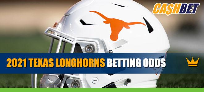 2021 Texas Longhorns Betting Odds