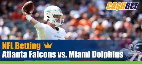 Atlanta Falcons vs. Miami Dolphins
