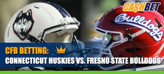 Connecticut Huskies vs. Fresno State Bulldogs Betting Information