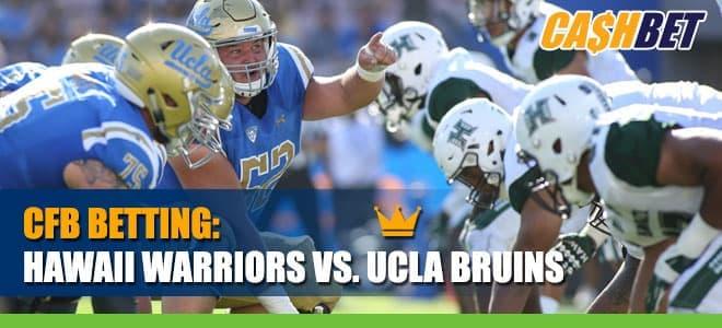 Hawaii Warriors vs. UCLA Bruins Betting Info and Odds