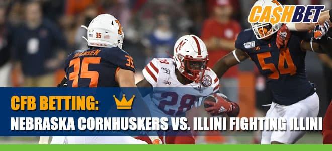 Nebraska Cornhuskers vs. Illinois Fighting Illini Betting Information