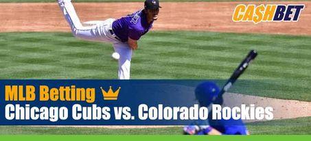 Chicago Cubs vs. Colorado Rockies