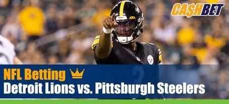 Detroit Lions vs. Pittsburgh Steelers