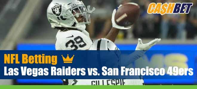 Las Vegas Raiders vs. San Francisco 49ers