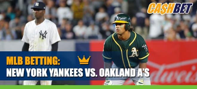 New York Yankees vs. Oakland Athletics Betting Information & Odds