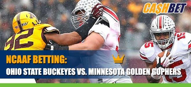 Ohio State Buckeyes vs. Minnesota Golden Gophers Betting Information