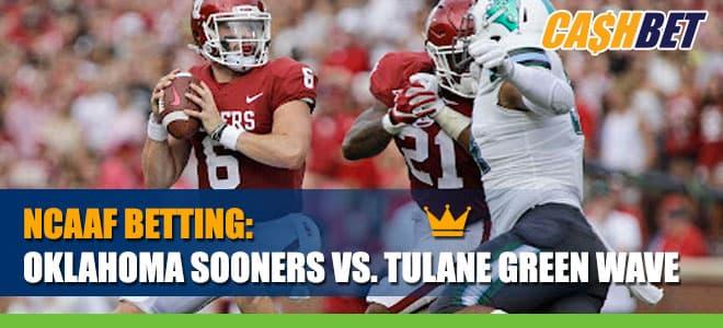 Oklahoma Sooners vs. Tulane Green Wave - College Football Betting Information