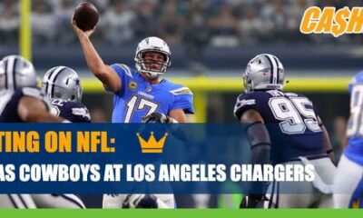 Dallas Cowboys at Los Angeles Chargers CashBet Wagering Analysis
