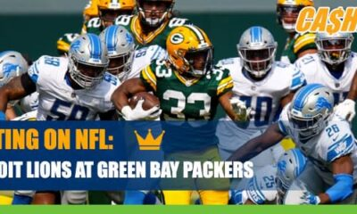 Detroit Lions at Green Bay Packers CashBet Wagering Analysis