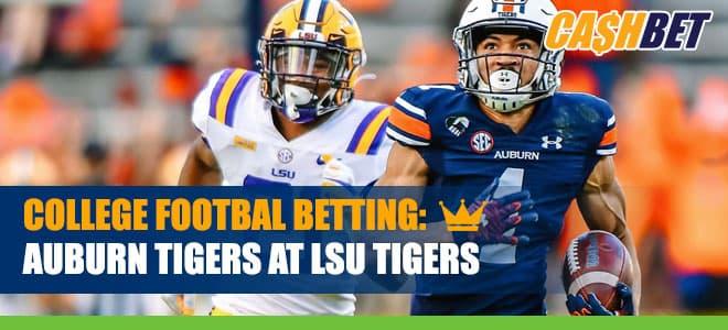 Auburn Tigers vs. LSU Tigers Latest Odds and Betting Predictions