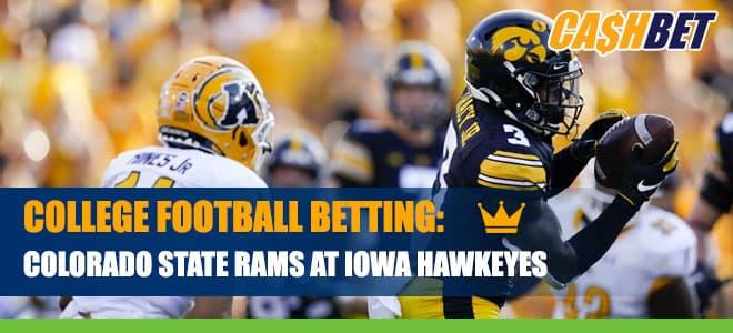 Colorado State Rams vs. Iowa Hawkeyes Betting Information