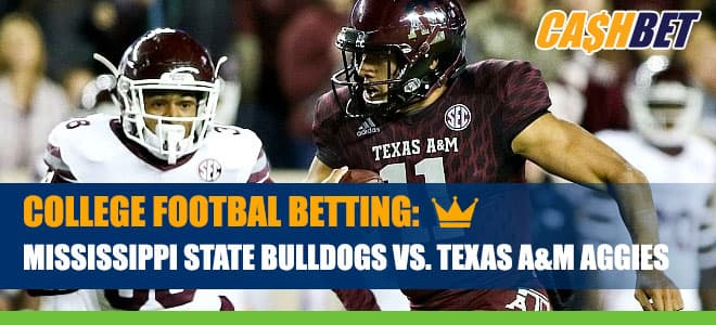Mississippi State Bulldogs vs. Texas A&M Aggies Betting Information