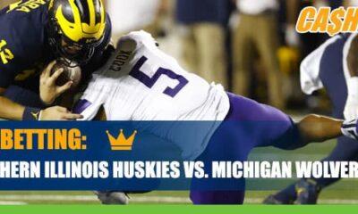 Northern Illinois Huskies vs. Michigan Wolverines College Football Betting Information