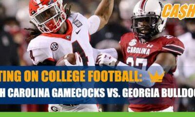 South Carolina Gamecocks at Georgia Bulldogs CashBet Odds Analysis