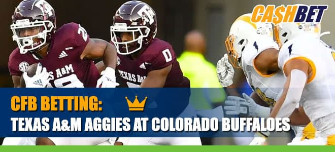 Texas A&M Aggies at Colorado Buffaloes CashBet Wagering Analysis