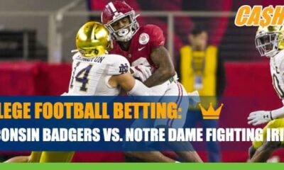 NCAA Football Betting: Wisconsin Badgers vs. Notre Dame Fighting Irish Updated Odds