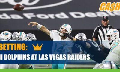 Miami Dolphins vs. Las Vegas Raiders Betting Info, Odds and Picks