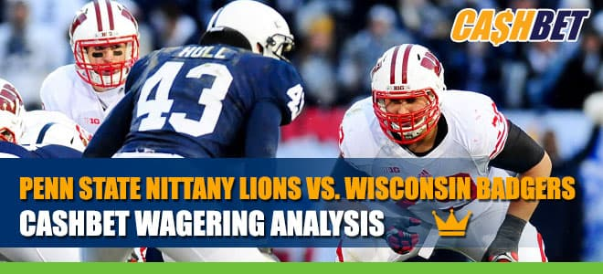 Penn State Nittany Lions vs. Wisconsin Badgers Betting Information