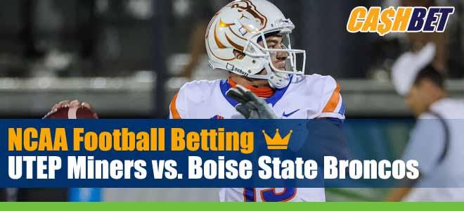 UTEP Miners vs Boise State Broncos