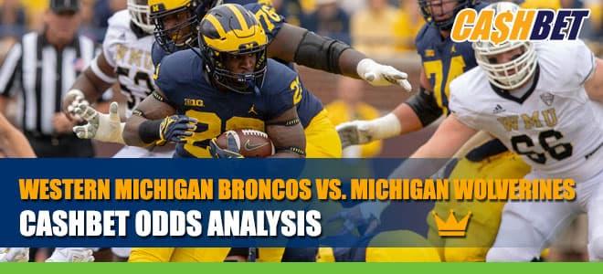 Western Michigan Broncos vs. Michigan Wolverines Betting Information