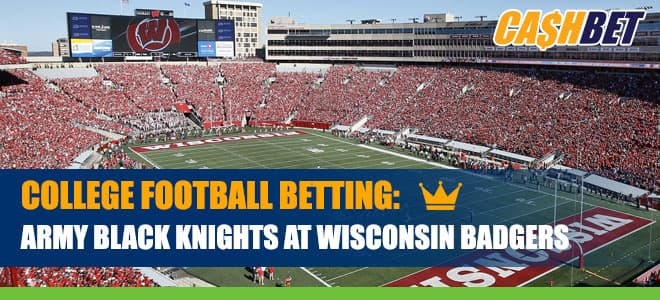 Army Black Knights vs. Wisconsin Badgers Betting Information, Odds and Picks