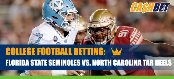 Florida State Seminoles vs. North Carolina Tar Heels Betting Information