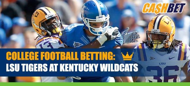 LSU Tigers vs. Kentucky Wildcats Betting Information